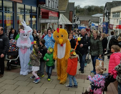 Crowds at the 2016 Easter Extravaganza