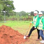 The Joshua Tree break ground on their new support centre