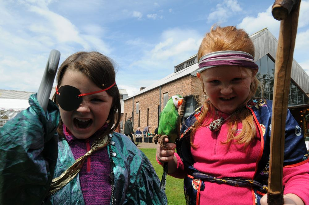 Beware the Pirates at the Lion Salt Works Museum